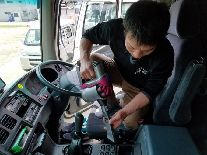 車両清掃・掃除・清潔
